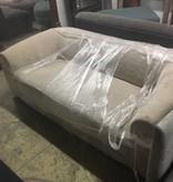 Brooklyn Champagne Velvet Sofa #ORA