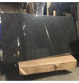 Brooklyn Polished Black & Gray Granite Top #ORA