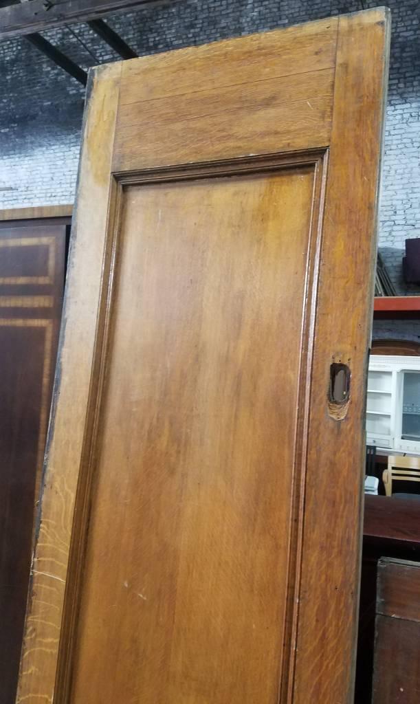 Queens Vintage Tiger Oak Pocket Door Set#ora