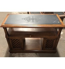 Queens Drexel Heritage Vintage Entertainment Stand#Red