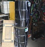 Queens Steel Fuel Drums #RED