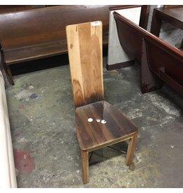 Brooklyn High Back Teak Chair #RED