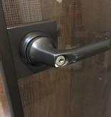 Brooklyn Alluminum Glass Door no. 1 #RED