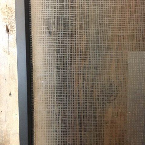 Alluminum Glass Door no. 1 #RED