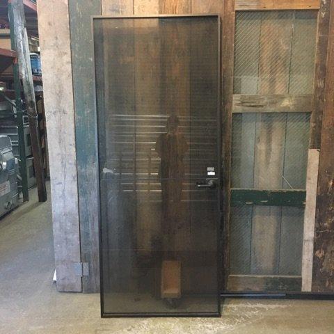 Alluminum Glass Door no. 2 #RED