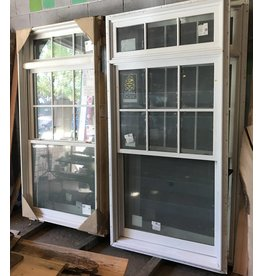 Queens Sierra Pacific Double-Hung Window#Red