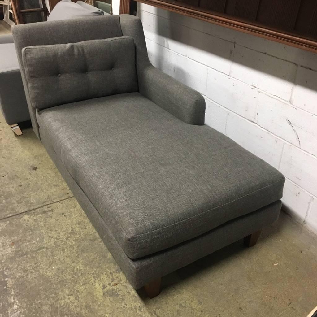 Brooklyn Designer Tweed Lounge Chair #RED