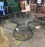 Brooklyn Designer Hour Glass Table #PIN