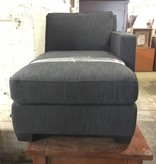 Blue Tweed Chaise #PIN