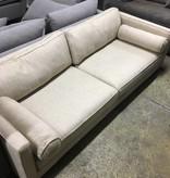 Brooklyn Cream Polyester Sofa #PIN