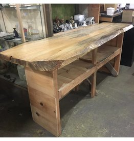 Brooklyn Live Edge Work Bench #PIN