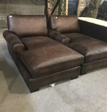 Brooklyn Designer Leather Chaise #GRE