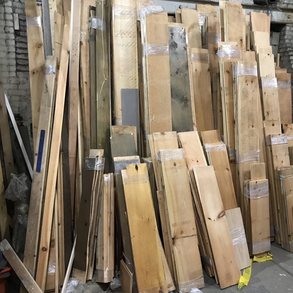 "Brooklyn 11"" Pine Boards"