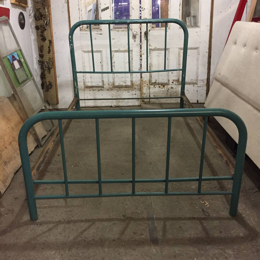 Brooklyn 1940s Antique Bed Frame #GRE