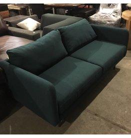 Brooklyn Designer Blue Tweed Couch #YEL