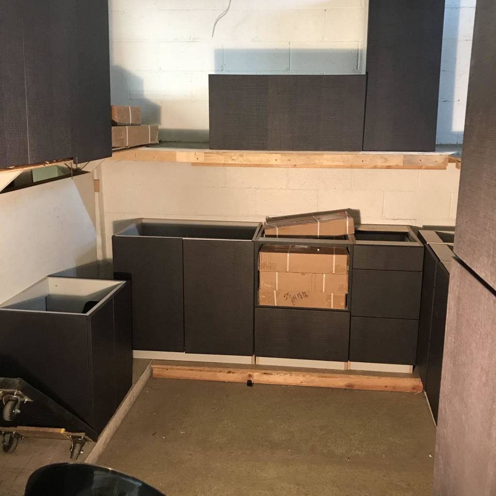 Brooklyn Contemporary Cabinet Set #YEL