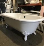 Brooklyn Cast Iron Clawfoot Tub #YEL