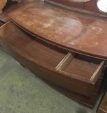 Brooklyn Mid Century Dresser with Vanity Mirror #YEL