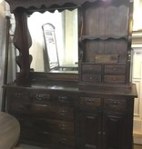 Brooklyn Stained Oak Dresser and Vanity Unit #YEL