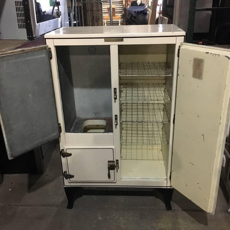 Brooklyn 1930s Leonard Frost Steel Ice Box #YEL