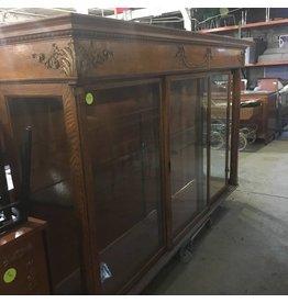 Brooklyn Tiger Oak Display Hutch #YEL