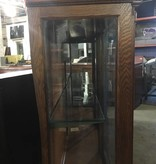 Tiger Oak Display Hutch #YEL
