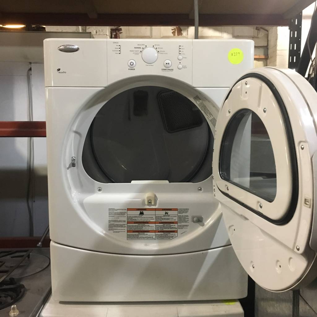 Brooklyn Whirlpool Accudry Gas Dryer #YEL