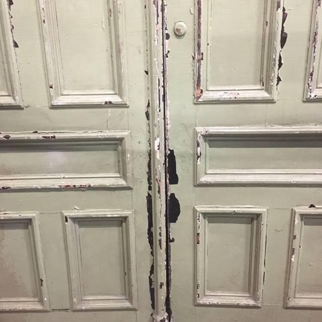Brooklyn Pair of Brownstone Doors #YEL