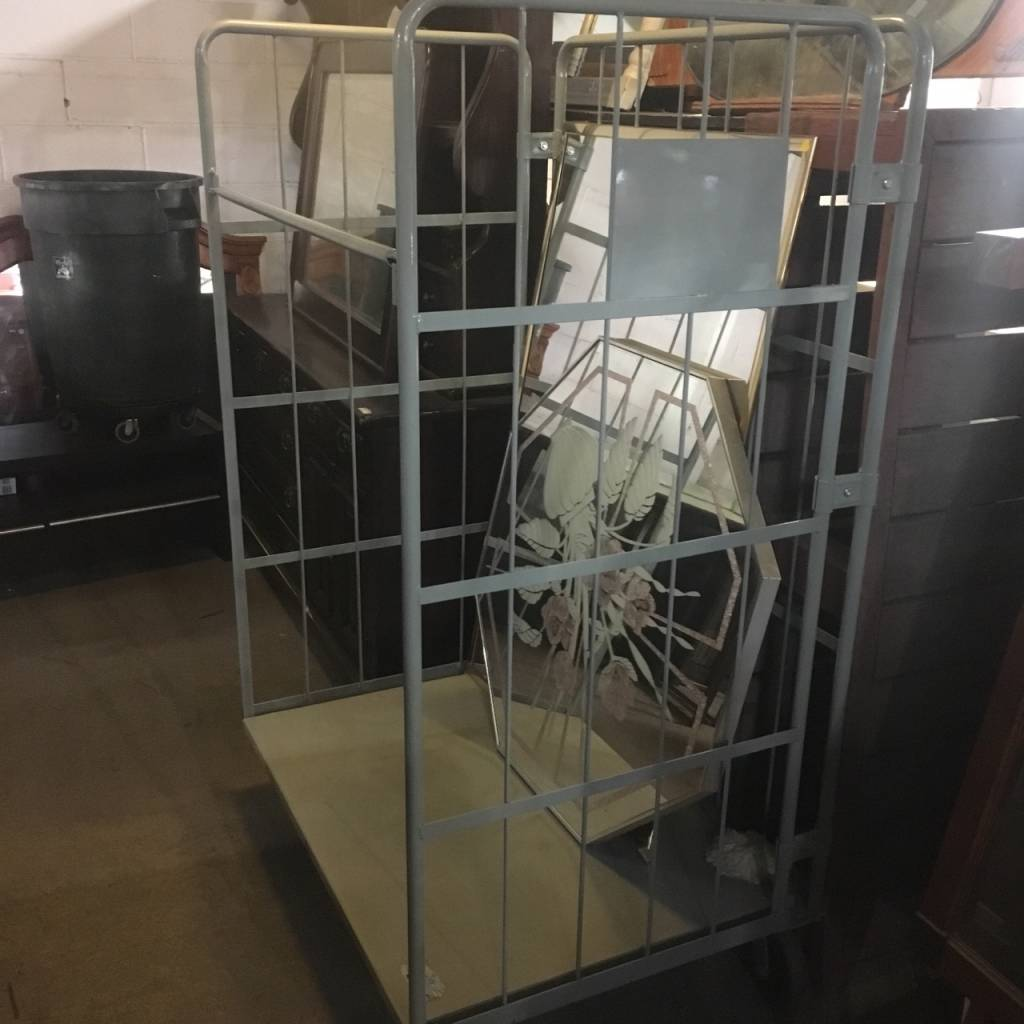 Brooklyn Folding Facilities Cart #YEL
