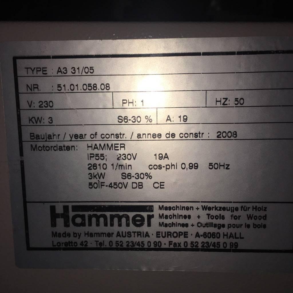 Brooklyn Hammer A3 31 Jointer #BLU