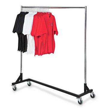 Brooklyn Rolling Clothes Rack #BLU