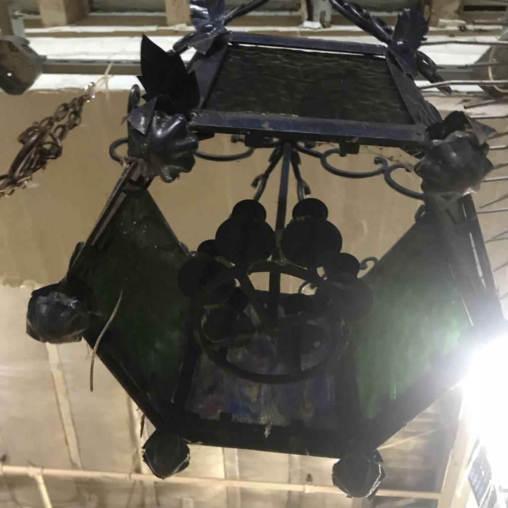 Brooklyn Purple Gothic Chandelier #BLU