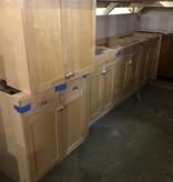 Brooklyn Maple Veneer Cabinet Set #BLU