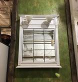 Brooklyn Medicine Cabinet with Milk Glass Shades #BLU