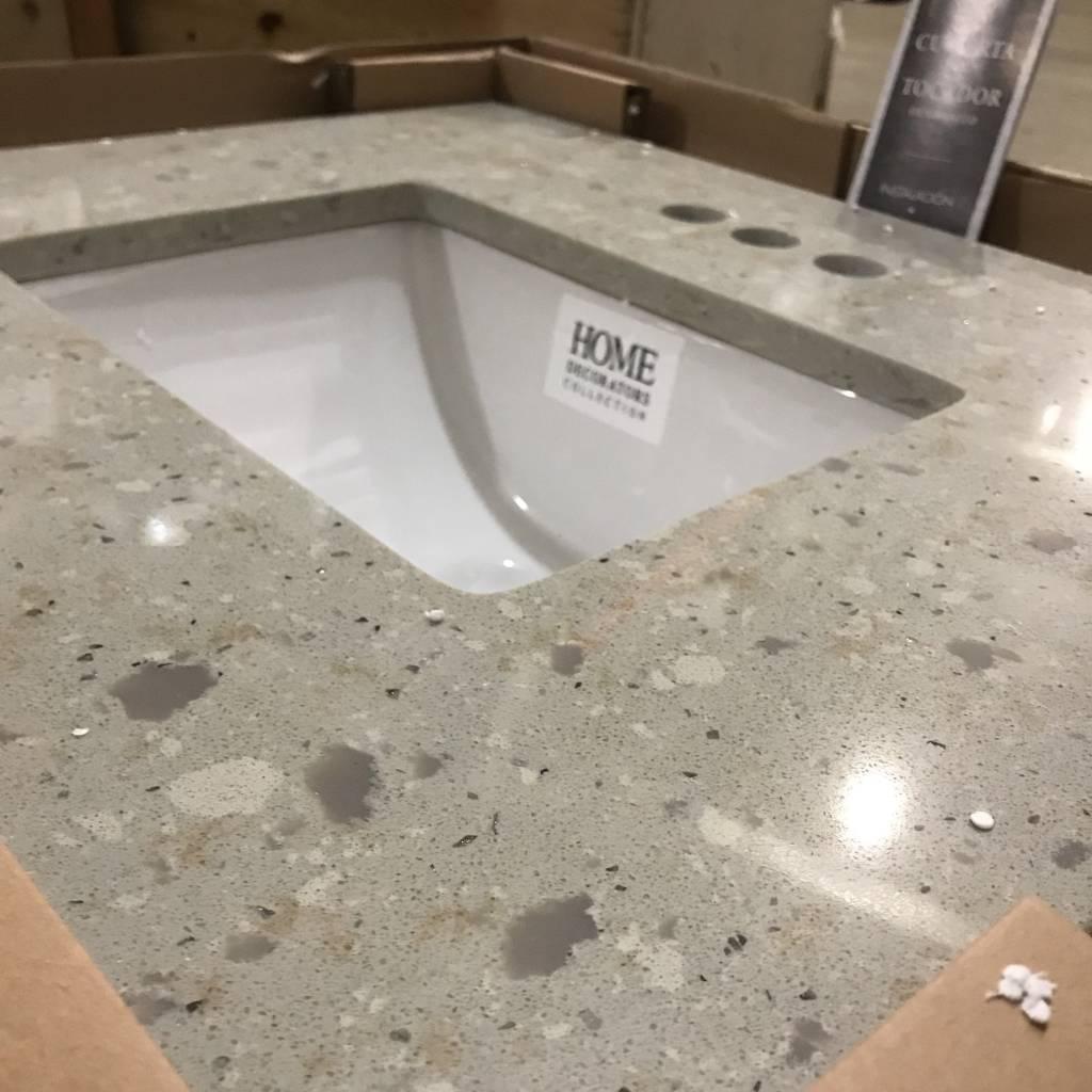 Brooklyn Cubierta De Tocador Granite Vanity Top #ORA