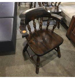 Brooklyn Vintage Oak Bar Chairs #ORA