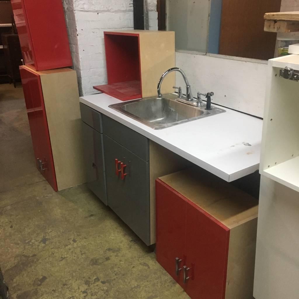 Brooklyn 5pc Modern Kitchen Set #ORA