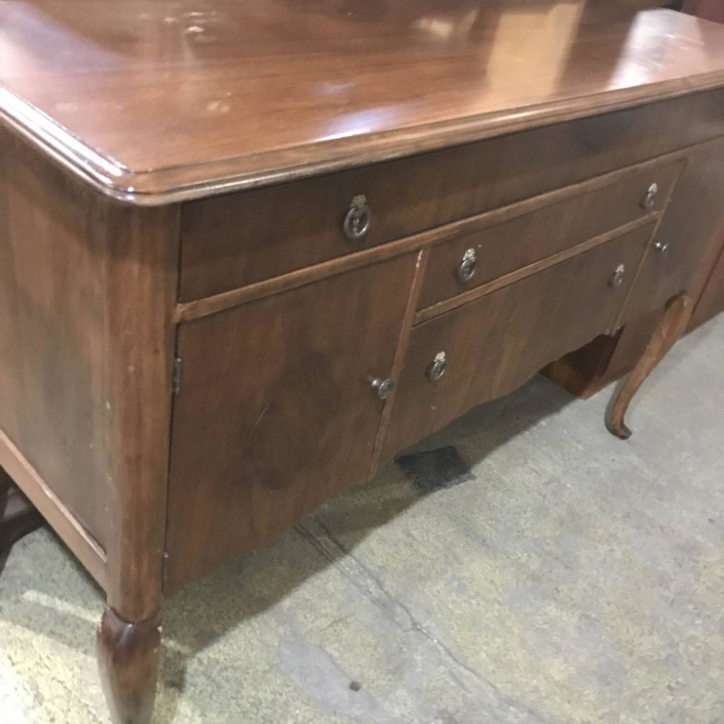 Antique Cherry Credenza #ORA
