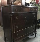 Vintage Revolving Mirror Dresser #ORA