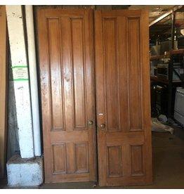 Pair of Brownstone Entrance Doors #ORA