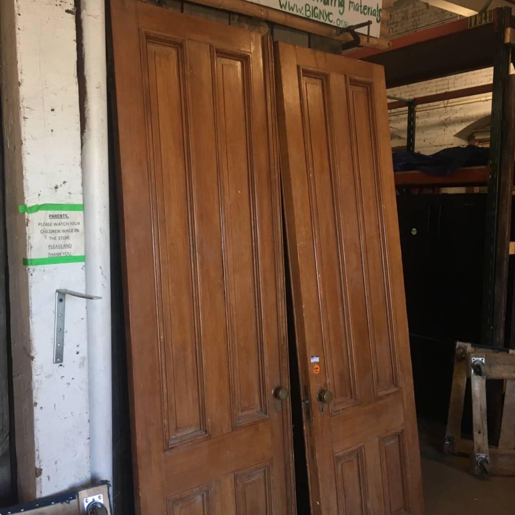 Brooklyn Pair of Brownstone Entrance Doors #ORA