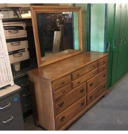 Brooklyn Dresser With Vanity Mirror #ORA