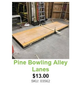 Pine Bowling Alley #WHI