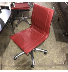 Red Leather Office Chairs #ORA