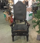 Spanish Revival Thrown Chair #WHI
