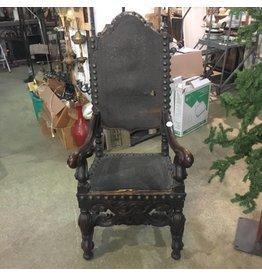 Spanish Revival Thrown Chair #WHI