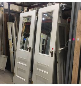 Mirrored Panel Doors #RED