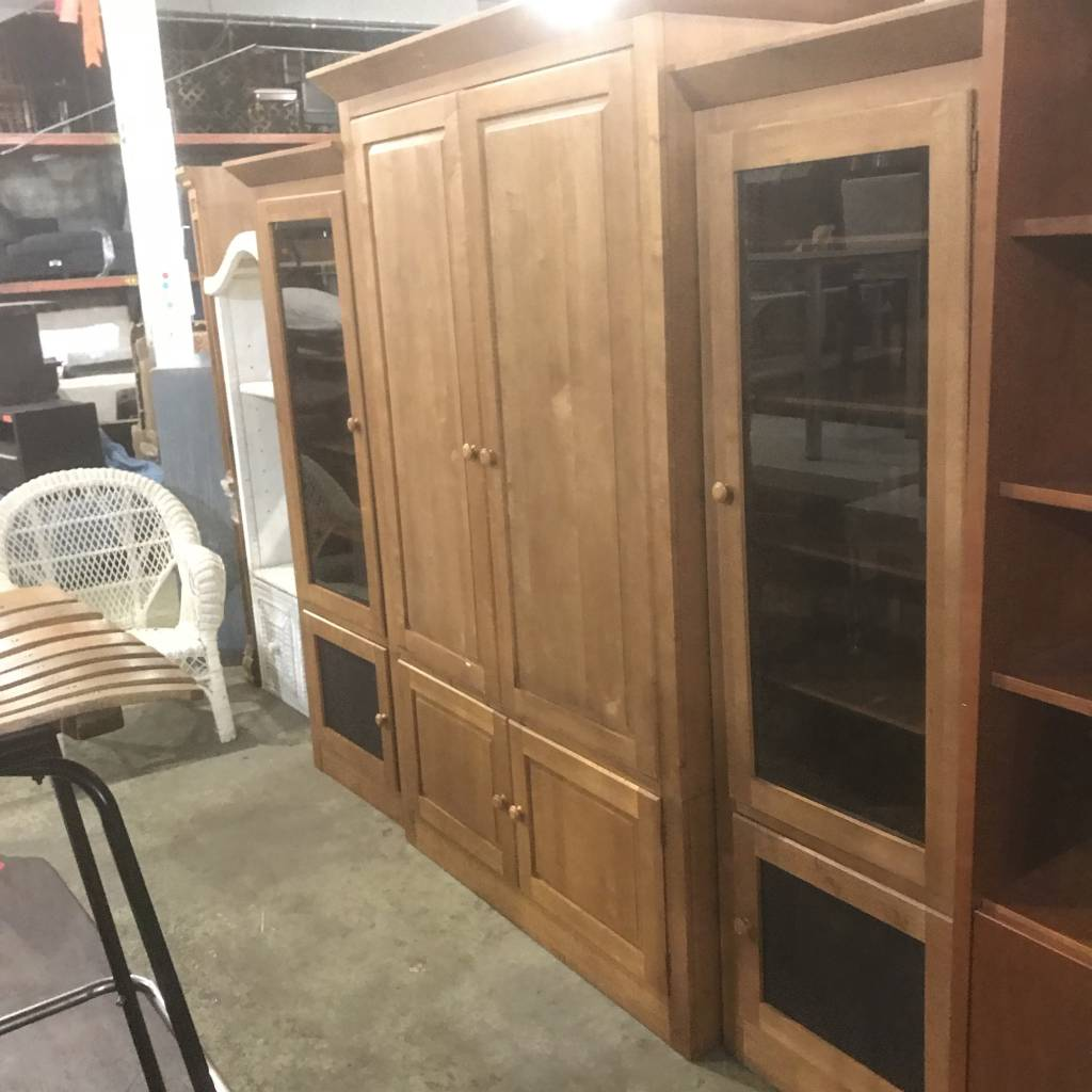 Ethan Allen Wall Unit #RED