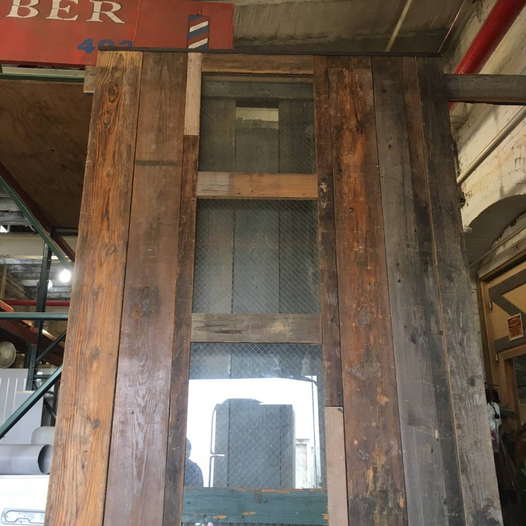 Reclaimed Barn Door #Red Reclaimed Barn Door #Red