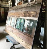 Reclaimed Barn Door #Red